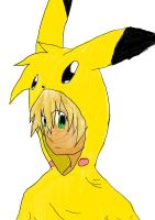 Pika-Dude by LordofTheSouls