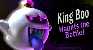 King Boo SSB4 Request by Elemental-Aura