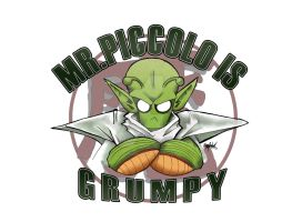 Mr. Piccolo Is Grumpy by RyanMcMurry