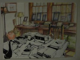 A Writer's Room by Lostro