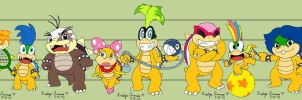 Koopaling Size-Up by PokreatiaForms
