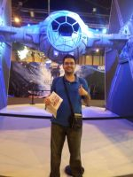 MGW 2015: Me and a TIE Fighter by alvarobmk123