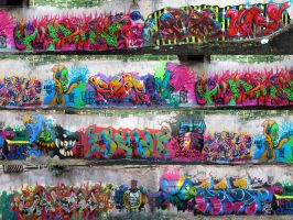 BIG WALL - Goodbye party for 2012 year by Alifj