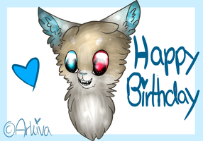 .: Late Birthday gift for Merry :. by Arkiva