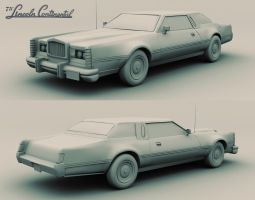 1975 Lincoln Continental by CCrumpler