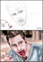Before-after Eric Northman by koala145179