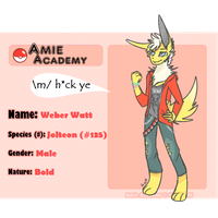 [Amie-Academy] Weber Watt Application by qayhound