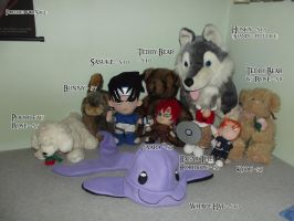 Plushes for Sale by GuardianOfTheFlame