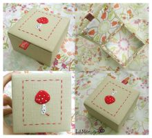Toadstool Box by MasonBee
