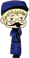 Moustache Sweden- Colored by kyra10987