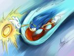 Sonic - Free in the Wind by amorias