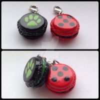Spots and Claws * Macaron Charms by Wingg