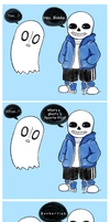 Undertale: Ghost Puns by HatofulHato