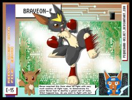DATA: E-015 .:BRAVEON-E:. by PEQUEDARK-VELVET