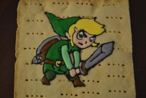 Finished Link Cookie by queen382