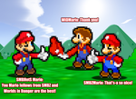 Three Famous Mario of DA and Youtube! by KingAsylus91