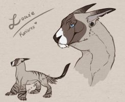 Louie the kanisrex by Kium
