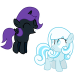 Snowdrop and Nyx by Posey-11
