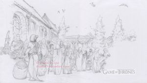 A Game Of Thrones Motion Comics-Qarth Market by krukof2