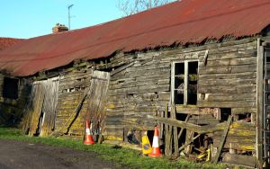 Distressed Barn 1 by RoyalScanners