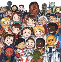 May the 4th be with you :D by akabeko