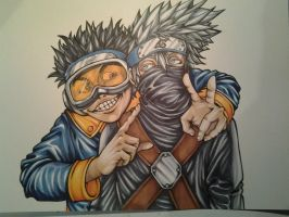 Ninja Kids by Necr0w