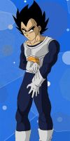 Vegeta's Ready by Dbzbabe