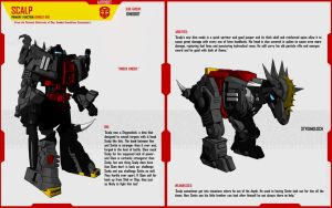 DINOBOT SCALP by F-for-feasant-design