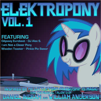 Elektropony Album Art - Front by Chessie2003