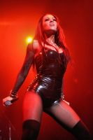 Butcher Babies:  Carla Harvey I by basseca