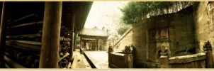 Fushun Confucius Temple Sichuan China by davidmcb
