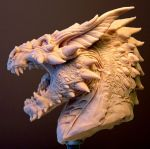 Smaug-gn-side by Skull-Droid