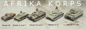 The Panzers of the Afrika Korps by DingoPatagonico