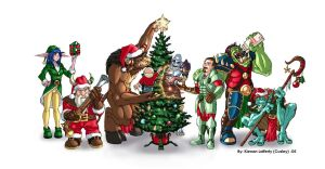 WoW Christmas 108 by KNKL