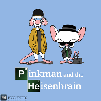 'Pinkman and the Heisenbrain' by loststrips! by Teebusters