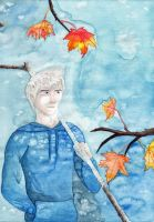 Jack Frost is bringing the winter by Saliona93