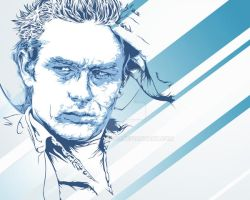 James Dean Portrait by jordygraph