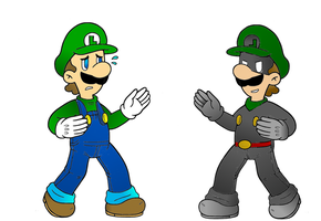 Luigi and Mr. L by Re-evolution360