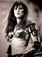 Lucy Lawless - Xena by amberj8