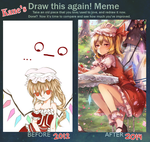 Improvement meme 2012-2014 by Kanekiru