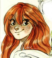 Freckles Everywhere by Myed89
