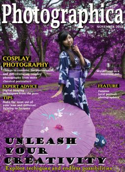 magazine cover project by wishcraftz