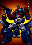 OPTIMUS PRIME COLOR 2 by Mjones456
