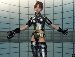 Cyber Babe... by Skyback