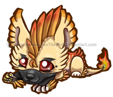 Pheonix cutcut Chibi and video by RonTheWolf