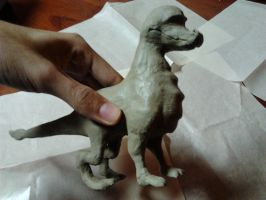 Spyro 'the clay dragon' Work in progress look 1 by kogoro-Inc