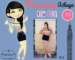 Macarena Achaga Doll by AbbeyDenith