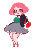 pink me ID by mayakern