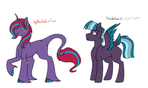 MLP Shipping Adopts [OPEN] by KatPocketMonster