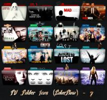 TV Folder Icons ColorFlow . Set 7 by ashtray4241